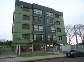 Amplo apartamento 02 dormitórios com garagem