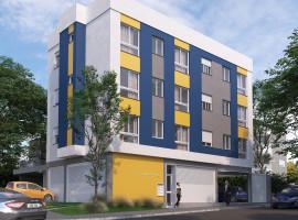 Apartamentos de 01 dormitório na planta